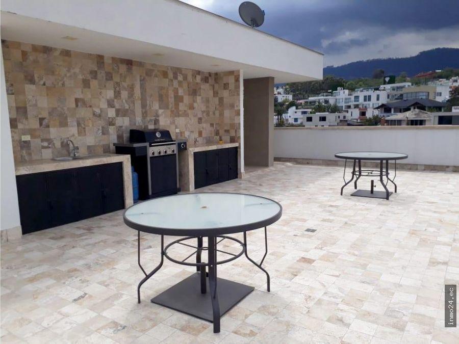 venta de departamento en cumbaya quito