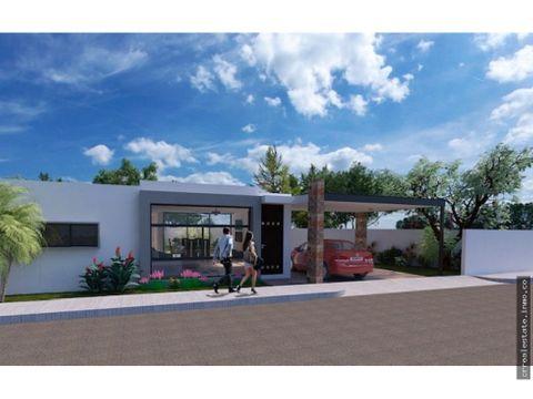 casa en venta con alberca en zona conkal