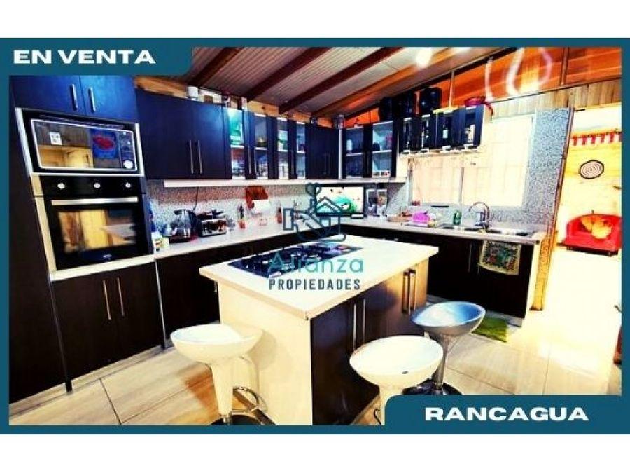 casa en venta en poblacion santa filomena en rancagua