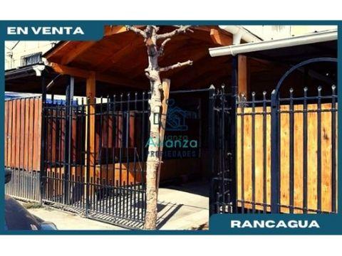 casa en venta en villa fernando debesa rancagua