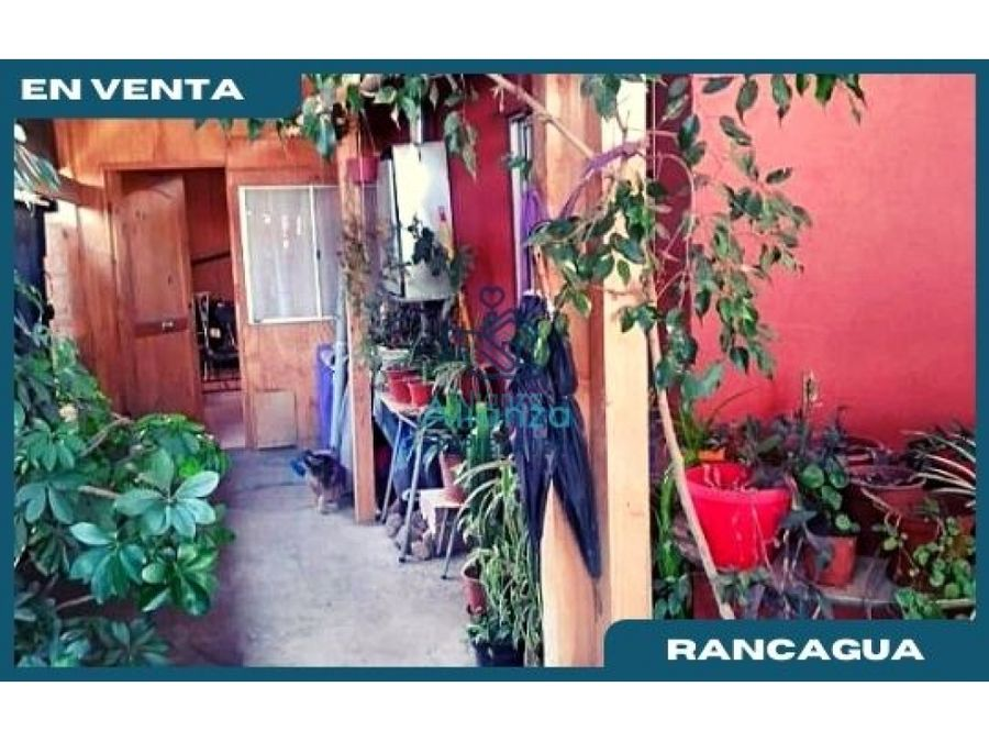 casa en venta en pobl esperanza en rancagua