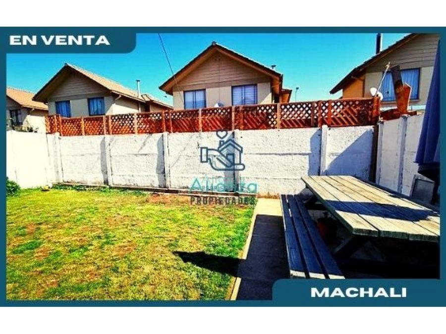 casa en venta en portal de machali