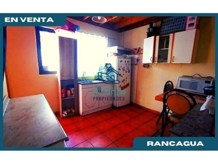 casa en venta en villa nordica en rancagua