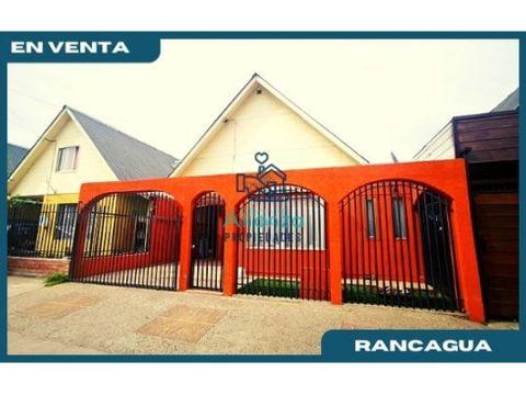 casa en venta en villa galilea f rancagua