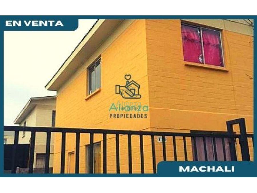 casa en venta en villa el llano machali
