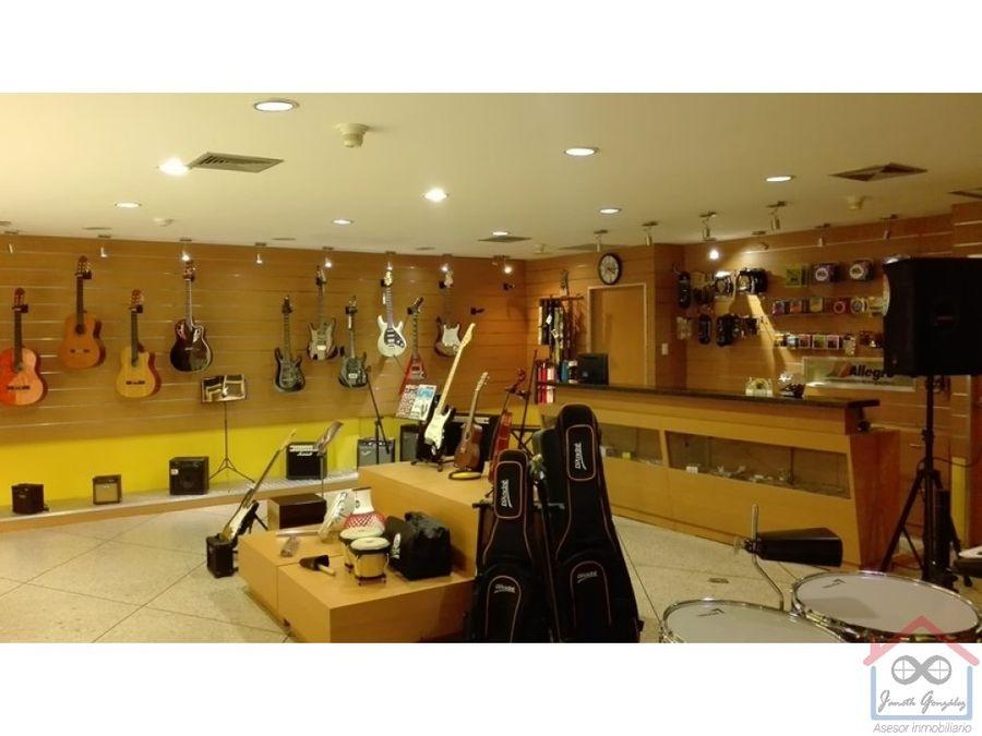 en venta fondo de comercio instrumentos musicales
