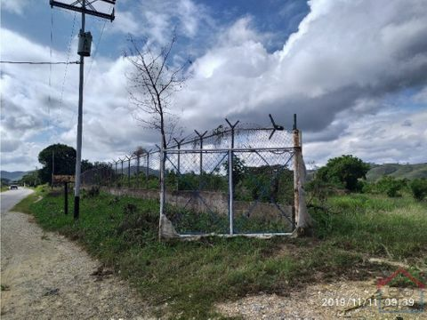 en venta 8 hectareas de terreno yaritagua