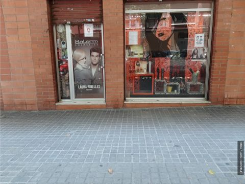 traspaso peluqueria en la verneda barcelona