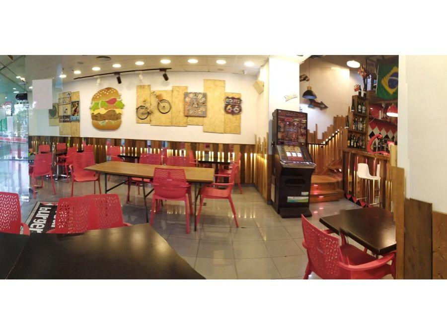 restaurante c3 en traspaso en vila olimpica barcelona