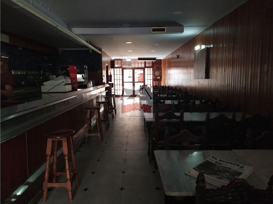 traspaso de restaurante c3 en bon pastor frente a poligono barcelona