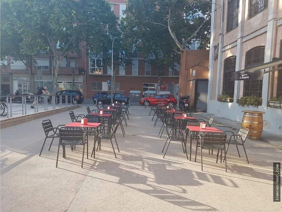 traspaso restaurante c3 en poble nou terraza espectacular