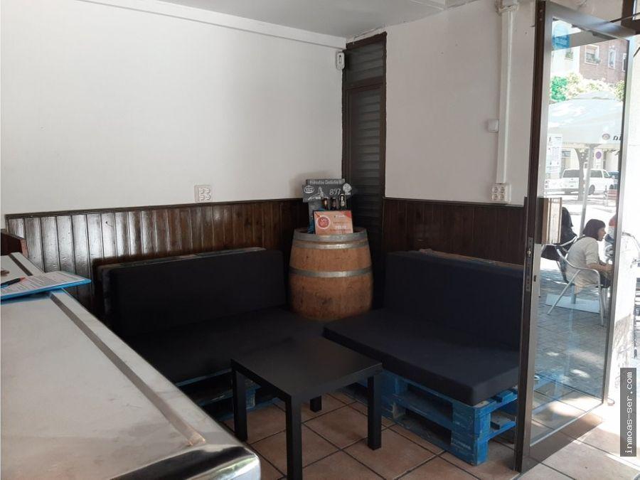 traspaso restaurante c3 con terraza en sant marti barcelona