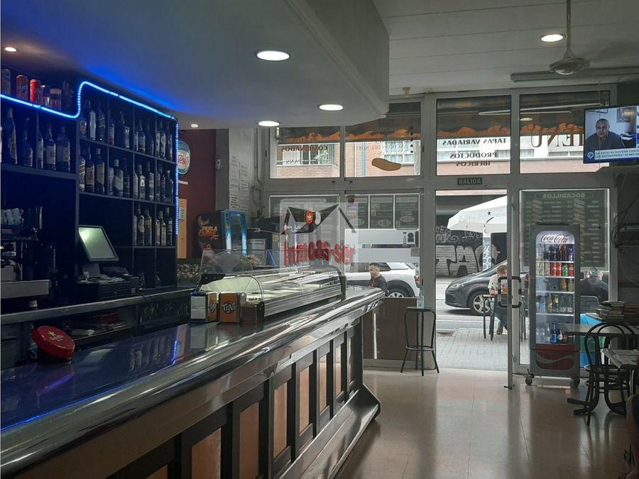 traspaso bar restaurante c3 en el clot con terraza barcelona