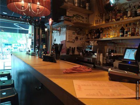 traspaso bar cocteleria c2 en villa olimpica