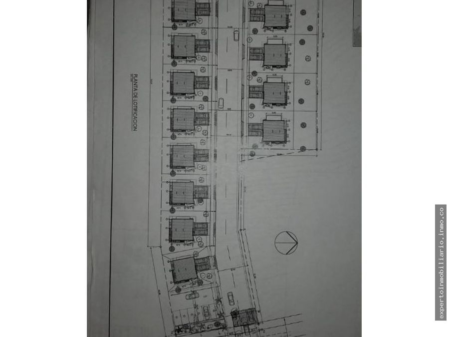 vendo terreno con proyecto aprobado de 16 casas