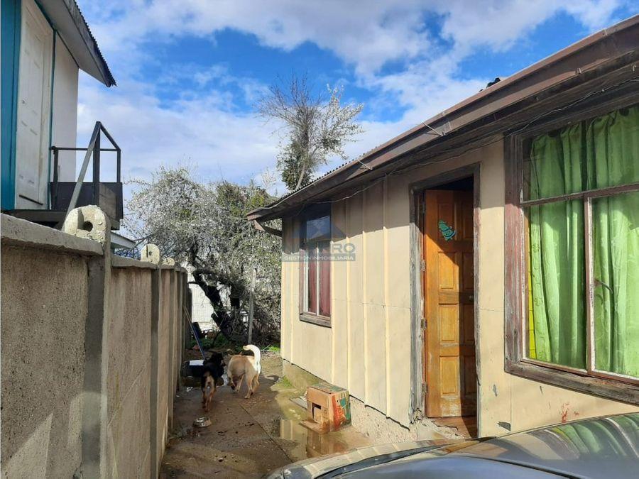 venta de terreno con casa