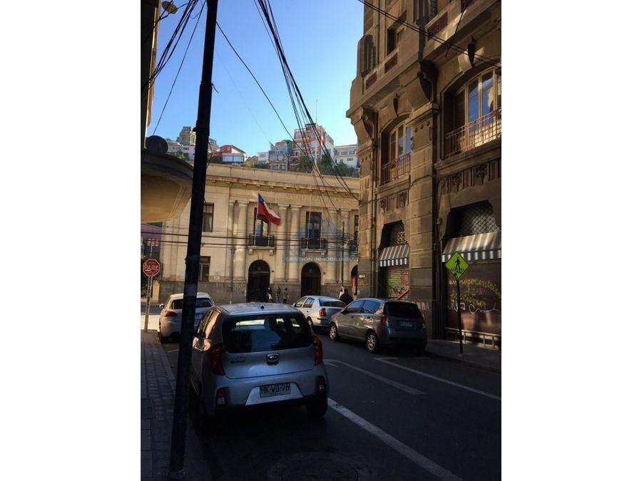 en venta oficina centro valparaiso