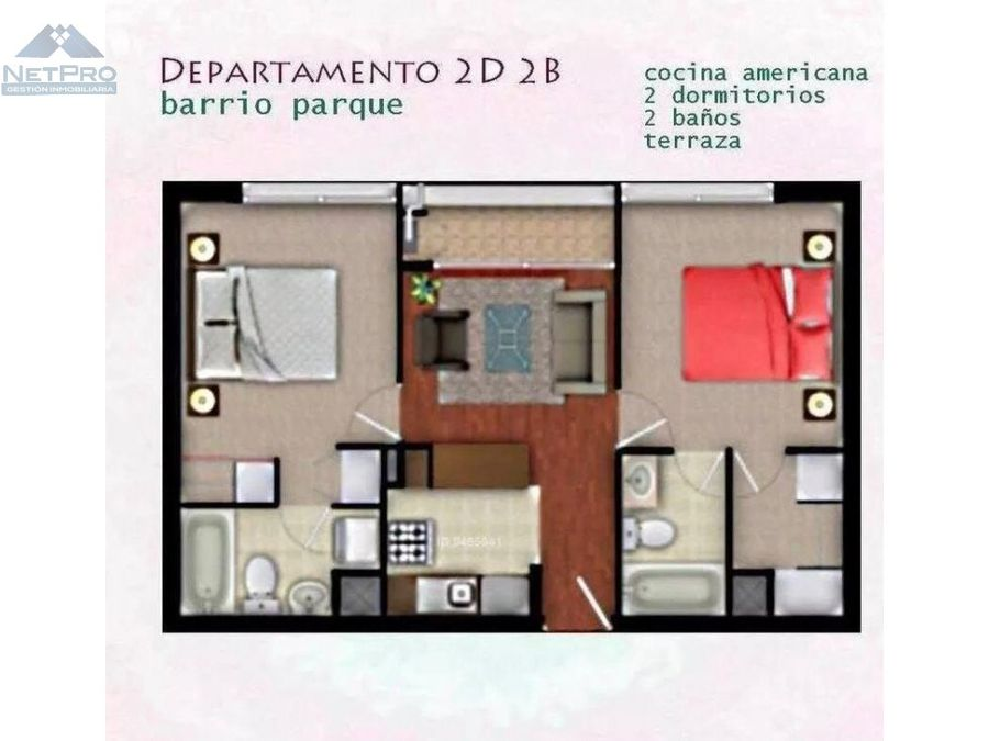 vendo departamento en gomez carreno