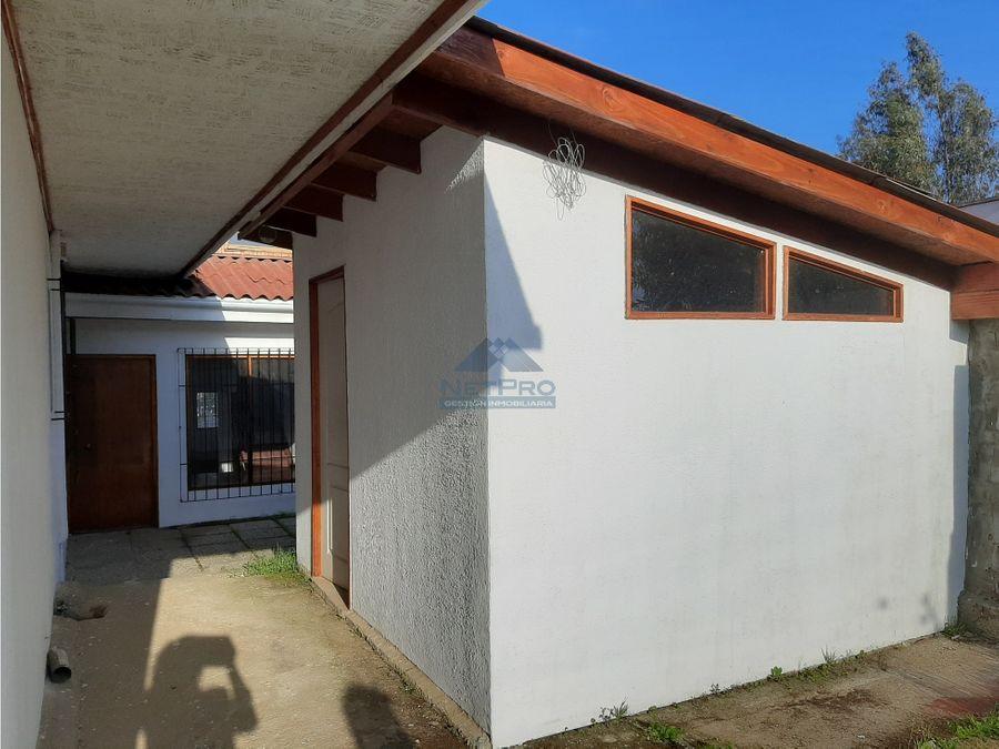 venta de hermosa casa en quilpue