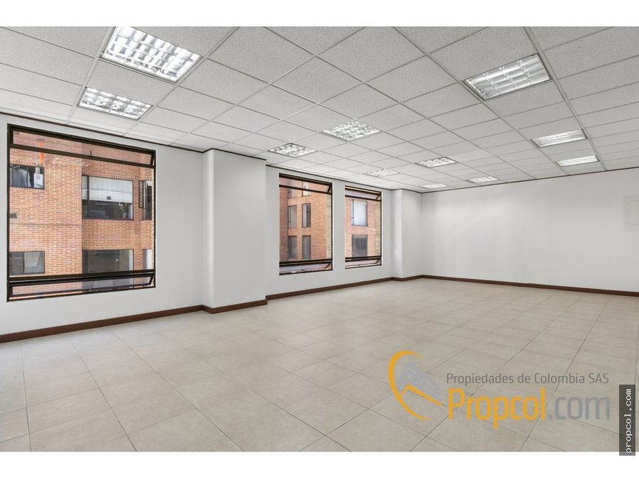 oficina en arriendo 725 mts calle 90 bogota