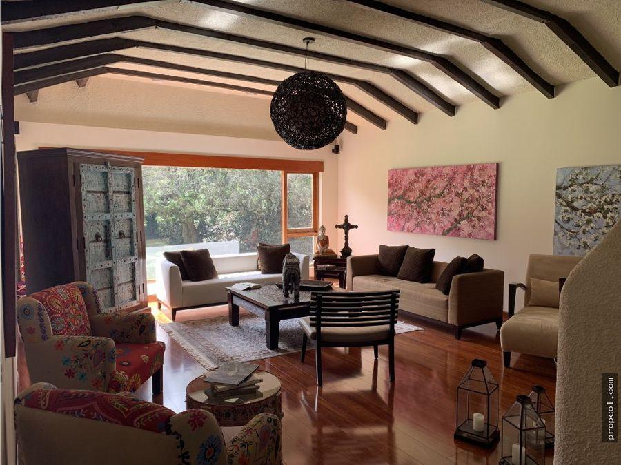 se vende espectacular casa en antigua niza bogota