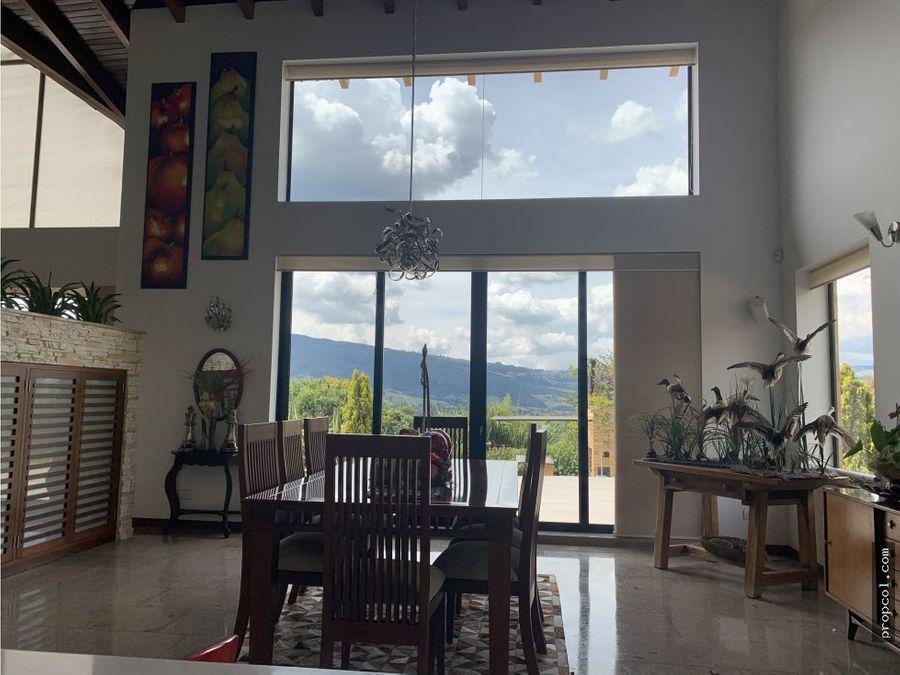 vendo casa en hacienda la selva guasca
