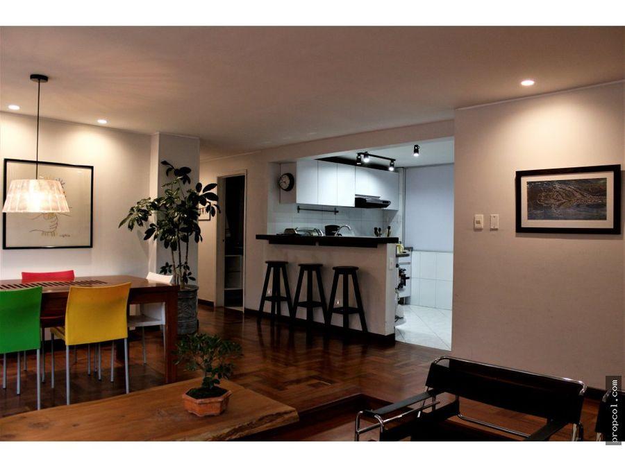 se vende apartamento con terraza en santa barbara