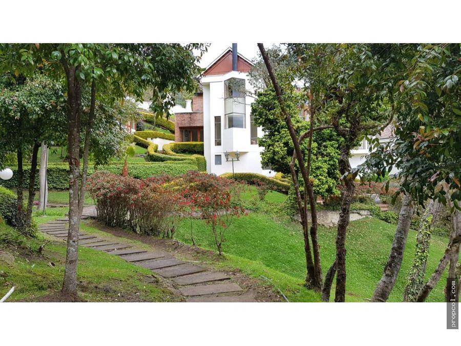 vendo casa en sindamanoy chia