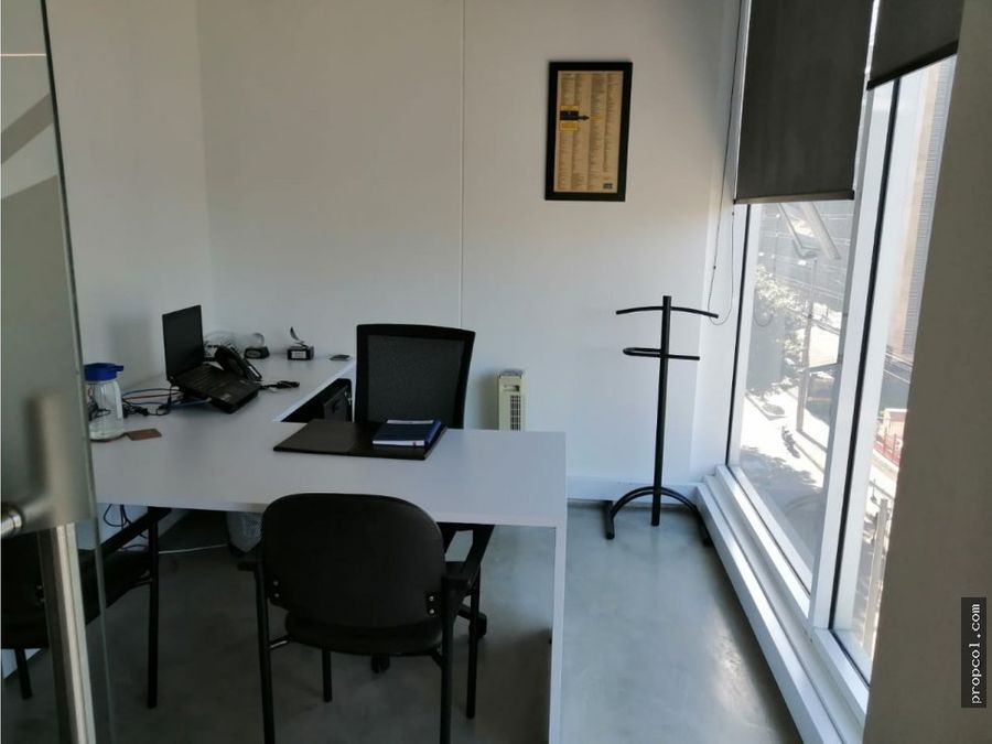 se arrienda oficina en chico 150 m2 bogota