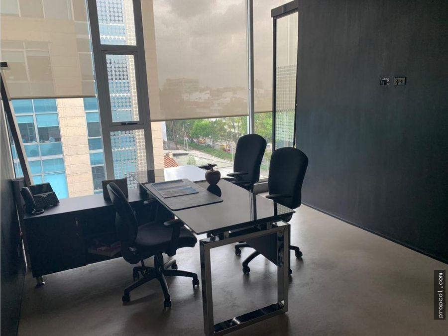 vendo oficina en chico 444 mts bogota