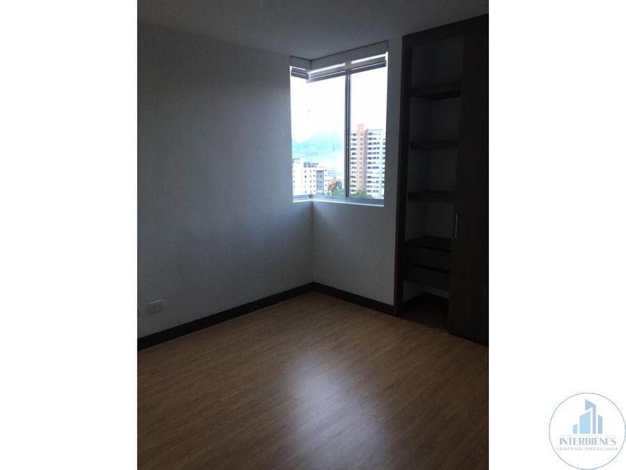 apartamento en arriendo loma esmeraldal envigado