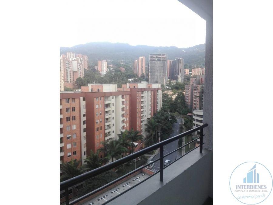 apartamento en arriendo loma cumbres envigado