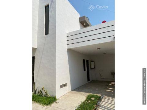 cv378 ri casa en venta col lucio blanco