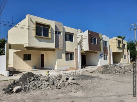 casas nuevas en venta col heroe de nacozari madero