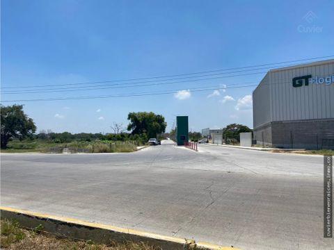 terreno en venta corredor industrial altamira