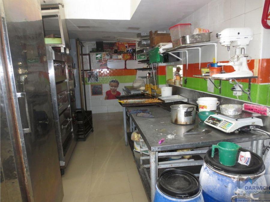propiedad esquinera con montaje para panaderia y areperia palmira