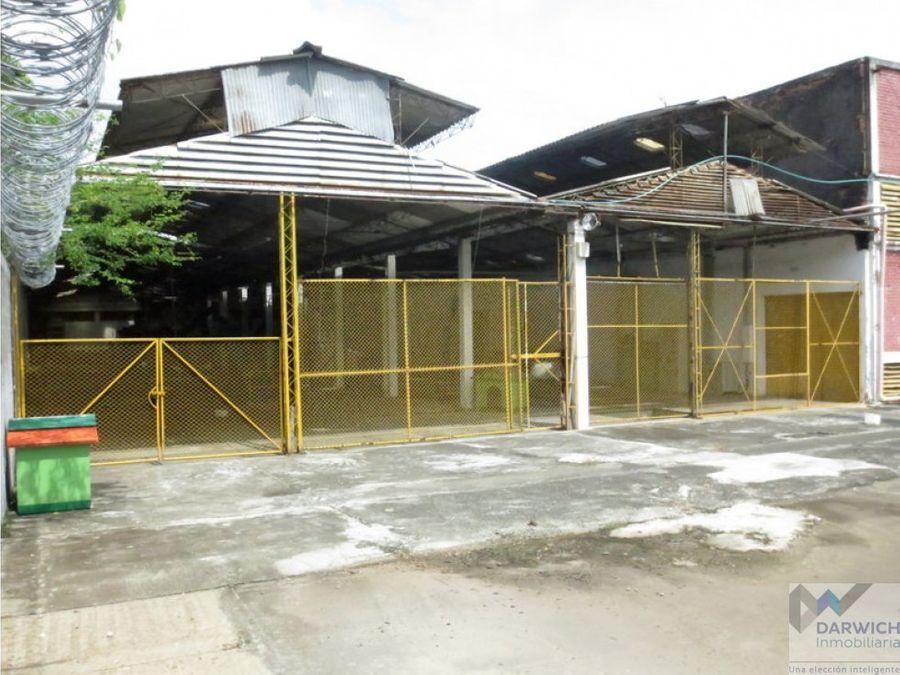 vendo complejo industrial via palmira candelaria 8205 m2