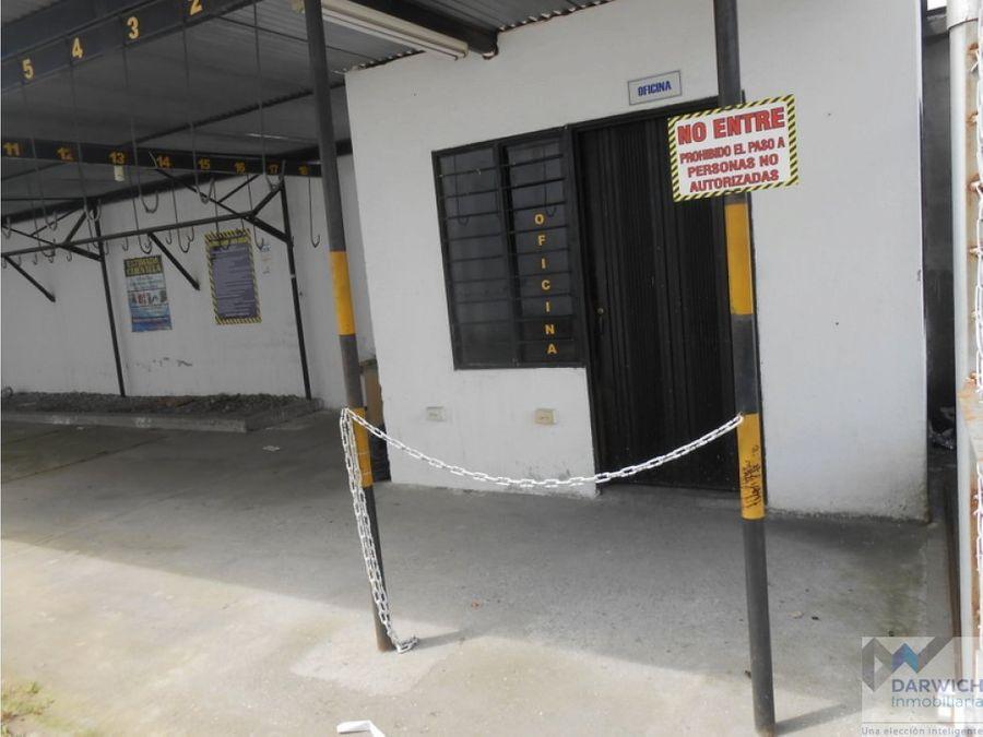 vendo parqueadero de 480 m2 en centro de palmira