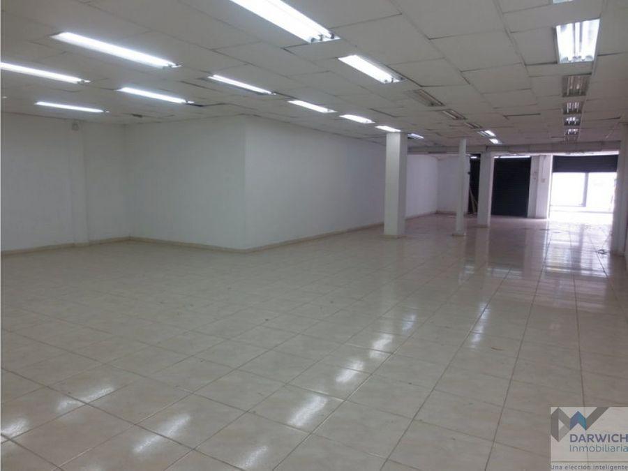 alquilo local de 340 m2 en el centro de palmira