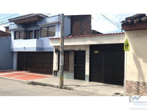 vendo casa en el barrio obrero de palmira