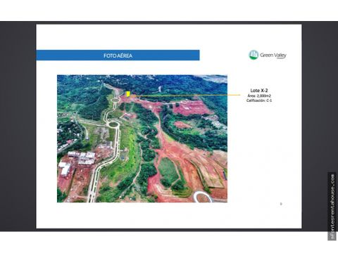 amplio terreno en venta en panama norte 20 6978 af