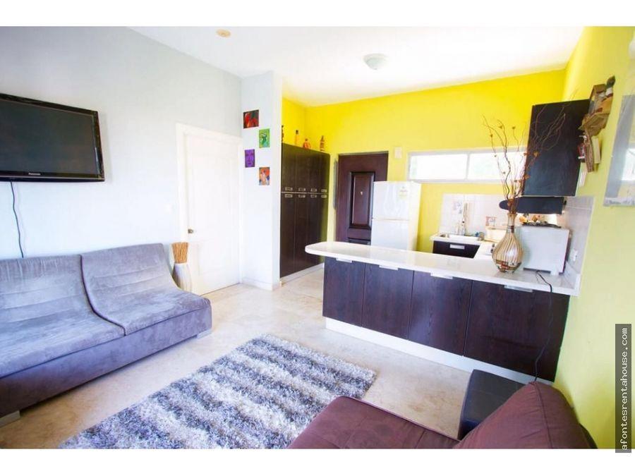 apartamento amoblado en alquiler en amador
