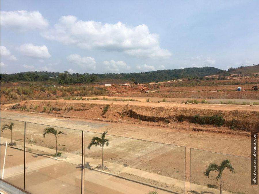amplio terreno en venta en panama norte