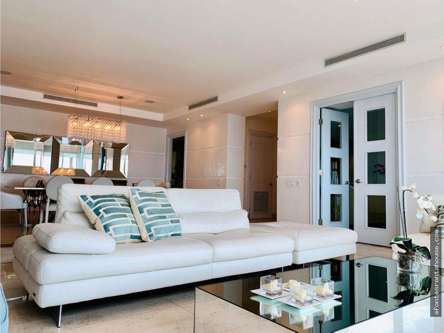 elegante apartamento venta en costa del este