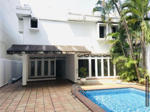 hermosa casa en alquiler en obarrio af 205692
