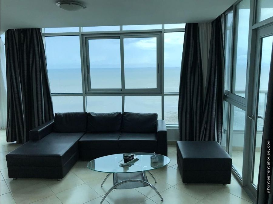 apartamento amoblado en venta en costa del este