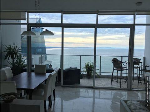 lujoso apartamento en alquiler en punta pacifica