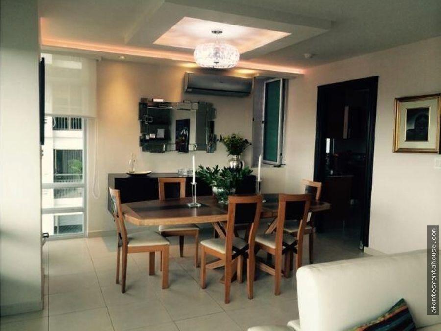 amplio apartamento amoblado en alquiler en coco del mar