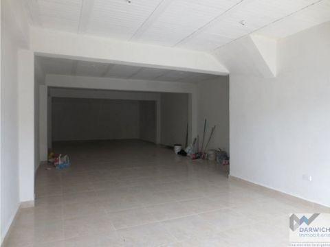 local de 90 m2 en el barrio colombina de palmira
