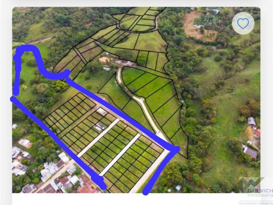 lotes de 105 m2 en costa rica ginebra proyecto barrio miravalle